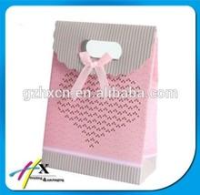 OEM 2014 Hot sale Luxury Wedding Gift Paper Bag Series Logo Printed Paperbags Custom Design