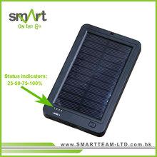 Smart Solar Charger .High Capacity (6000 mAh) & Dual Outputs