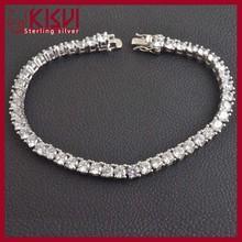 Tennis Bracelet 925 Sterling Silver Bracelet Jewelry Oem Jewelry Factory Wholesale