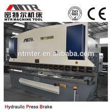 wc67y hydraulic press brake/bender/sheet metal bending