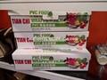 Melhor embalagem fresco frutas e legumes pvc película aderente jumbo rolo