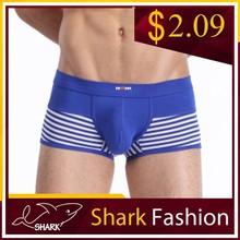 Shark Fashion perfect fitting sexy boy boxers dorable man underwear