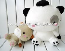 White loving cat wholesale , Animals cat funny dolls