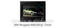 auto parts car dvd gps player for Peugeot 406 (2013) gps navigation accessories