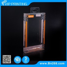 Clear plastic mobile phone packaging box