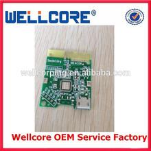 Wellcore iBeacon module waterproof beacon usb / USB ibeacon PCB radio board without ibeacon case