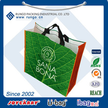 Retail eco shopping bags with logo for Norway customer
