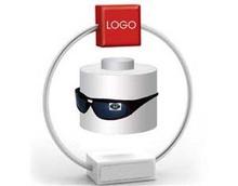 circle magnetic rotating levitation display
