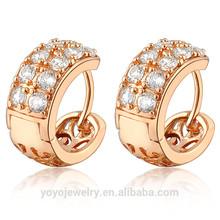 Equisite fashion accessory gold desgin golden earring designs for women