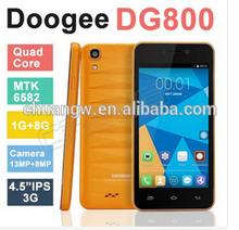 Smart Phone MTK6582 IPS Quad Core Android 4.4.2 13.0MP GPS 1GB RAM 8GB ROM 3G Original DOOGEE DG800 used mobile phone