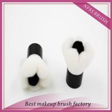 2015 fashion hot sale flower shaped nylon hair makeup kabuki brush