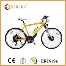 26 inch 36V 250W heavy-loading capacity lithium battery e bike