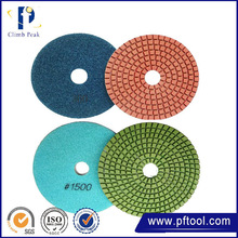 Wholesale low price high quality Wet Resin Bond Diamond Polishing Pads For Granite Marble Polishing