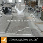 granite heart shape UK style tombstone