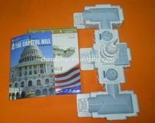 foam paper white House 3D puzzle