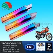 Super Weld Hot Sale Racing Motorcycle Exhaust Muffler