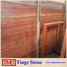 Good Quality Persian Red Travertine Tile On Hot Sale