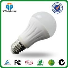 ce rohs unique designed E27 B22 led bulb 5w 8w high power indoor light bulb ceramic covers 5w 8w YATE led bulb manufacturing
