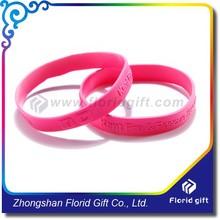 Professional manufacture Custom Silicone Wristband,Silicone embossed wrist band