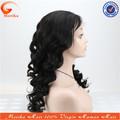 الجملة مخزون كبير الطبيعية شعر مستعار للأسود، شعر الإنسان الكامل الدنتلة الباروكات، شعر مستعار الجسم موجة