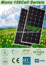 A-grade cell high efficiency 150w monocrystalline PV solar panel