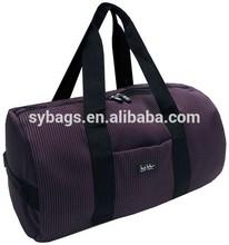 2014 Folding Portable Nylon Gym Bag Durable 600D Nylon Travel Vintage Waterproof Duffel Bag