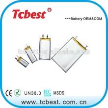 High quality for 2674138 3.7v li-polymer 3000mah battery