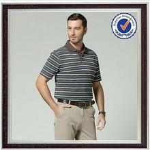 2015 brand clothing Men's polo shirt t shirt 80%cotton 20%polyester