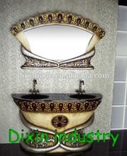 Antique waterproof bathroom vanity storage