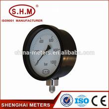 Good quality steam boiler general pressure gauge with bayonet bezel