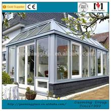 Outdoor Glass House/ Sun Room/ Winter Garden Installation 1343