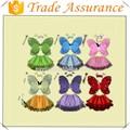 halloween alas de ángel vestido de princesa de alas de mariposa los niños muestran cuatro piezas traje