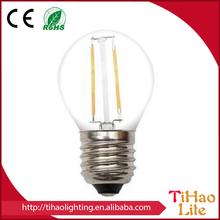 360 Degree CE/UL / 6W/ 4W / 2W Led Filament Light , Led Filament Bulb , Led Bulb Filament E14 E27 120V / 220V