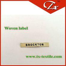 skin friendly weaving label&printing label shrink china maker