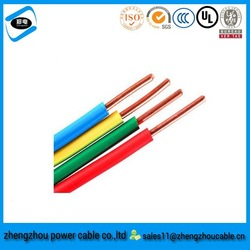 flexible electric cable 2x1.5mm electric wire PVC Insulation /pvc insulated cable 4mm2