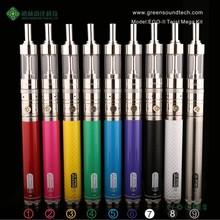 Wholesale wax vaporizer pen Ego II Twist Mega kit gs vaporizer cigar ego 2200 kit with free sample free shipping