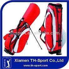 Custom logo and color nylon material golf stand bag