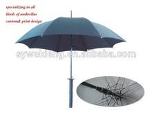 Nouveau design katana forme couteau parapluie épée en forme parapluie / parapluie de couteau
