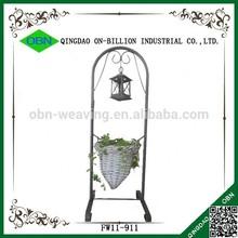 Plant rattan hanging basket