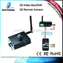 2015 Newest 3G DVR with SIM card/3G video box/3G WCDMA Camera