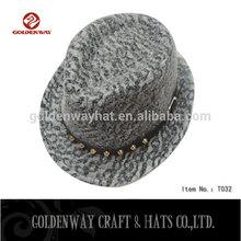 cute lovely felt fedora hats cotton child hats