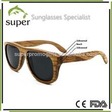 Layered Wood Sunglasses Polarized Darker Lens Fashion Woody glasses Unisex
