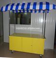 De la calle carrito de comida / de múltiples funciones de aperitivos expendedora cesta