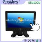 CE/FCC/KCC/ROHS Plastic/Rubber case 7 inch monitor,7 inch lcdmonitor,7 inch touch screen monitor