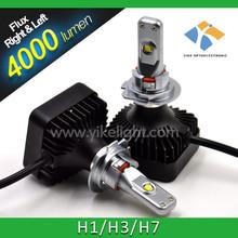 Easy Setting hiway led car headlight high power 25w h7 cob led auto headlight