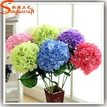 Todos los tipos de flores artificiales venta al por mayor de flores de hortensia