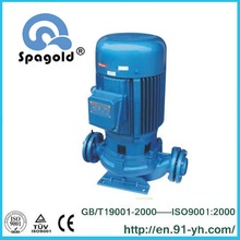 China famous water treatment pipeline mounted pump