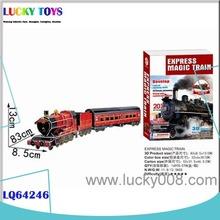 neues produkt klassiker zug spielzeug modellbahn spur ho spielzeug dekoration kid pädagogisches spielzeug 3d puzzle großhandel
