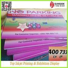 double sides printed pvc corex board/ forex foam board