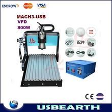 Hot selling CNC Router 4030Z-U800W, CNC Milling Machine